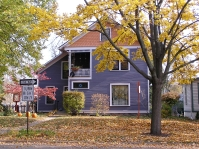 19th-century home with custom colors, Ann Arbor, Mich.
